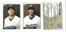 2018 HELENA BREWERS TEAM SET COMPLETE MINORS R MILWAUKEE BREWERS