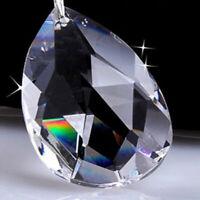 50Pcs Clear Glass Crystal Ball Prism Chandelier Crystal Pendant Ball Suncatcher