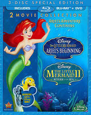 LOT OF 10 The Little Mermaid II: Return to the Sea/The Little Mermaid: Ariels