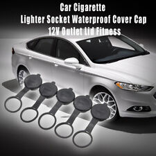 5 x Waterproof Car Cigarette Lighter Socket  Cover Cap 12V Outlet Lid Fitness