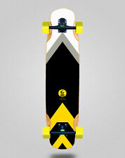 New listing Skate Skateboard Longboard Complete Mix Bamboo 38x8.45 Glutier Barbeito
