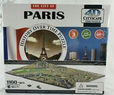The City of Paris 4D Cityscape History Over Time Puzzle 1100 pieces  NEW SEALED