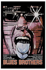 Classic Movie: The  Blues Brothers Polish  Movie Poster 1980