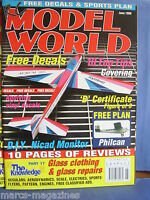 RCMW RC MODEL WORLD JUNE 1999 PHILCAN PLAN FAIRCHILD PT19