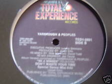 """YARBROUGH & PEOPLES DONT WAIST YOUR TIME 12"""" 1984"""