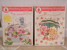 2 ~ Vintage 1981  ~ Strawberry Shortcake ~ Puzzles ~ Board / Tray
