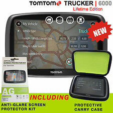 TomTom Trucker 6000 Lifetime Edition - PRO INCLUDES MAPS, LIVE TRAFFIC & CAMERAS