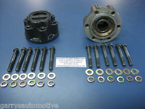 WARN 61572 4WD Locking Hubs Ford Courier Ranger Mazda B Series Fighter Lock Out