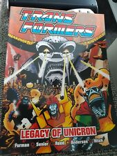 Transformers Legacy Of Unicorn Titan Book