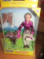 "Breyer Horses Classic Kaitlyn 6"" Riding Doll Western Saddle Bridle & Pad NEW!"