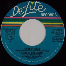 KOOL & THE GANG: Street Kids DE-LITE DJ PROMO 45 Funk Soul Disco NM-