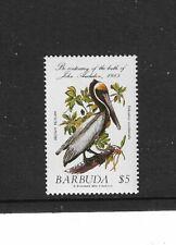 1985 Barbuda - Brown Pelican by John Aubudan - Single Unmounted Mint.