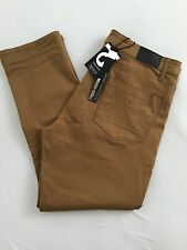 FRIED DENIM harvest Gold stretch Comfort Pants-40X30 NEW flex chinos jeans-$60