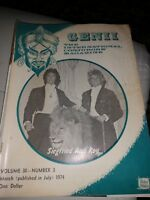 Siegfried and Roy Issue 1974 Vintage Genii Magazine