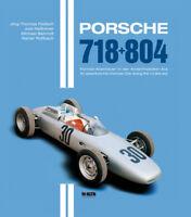 Porsche 718 + 804 (Formel Formula F 1 2 Hill Moss Mezger Linge) Buch book DE+ENG