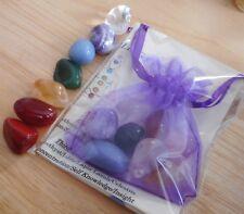 Chakra Healing Crystals - 7 Chakra Stones 15mm-17mm - Chakra Balancing - Reiki