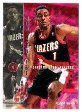 Rod Strickland 1995-96 Fleer Portland Trail Blazers Insert Basketball Card