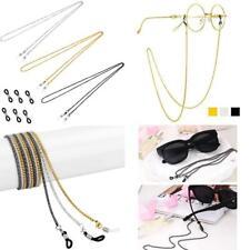 Whaline 3 Pieces Eyeglasses Chain Sunglass Neck Strap Holder With 6 Pcs Adjustab