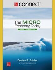 Connect 1 Semester Access Card for The Micro Economy Today, Schiller, Bradley R,