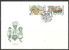 CEPT 1998/ Liechtenstein MiNr 1165/66 FDC