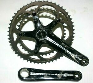 VGC  Campagnolo Athena Carbon 11 Speed Road Bike Chainset 170mm 39/53 – Cost £19