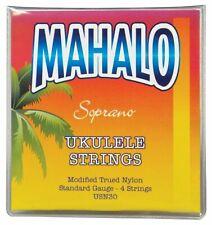 MAHALO UKULELE SOPRANO STRINGS SET OF 4 REPLACEMENT NYLON STRINGS