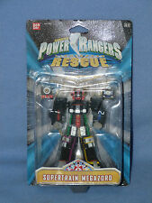 POWER RANGERS LIGHTSPEED RESCUE SUPERTRAIN MINI MEGAZORD BOXED