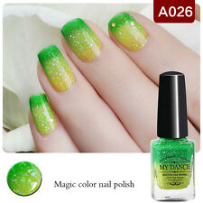 6ml Color Changing Thermal Manicure Peel off Polish Nail Art Varnish A026