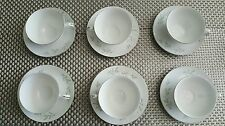 Set of 6 Tea Cups & Saucers St Regis Fine China JAPAN 101Excellent Cond
