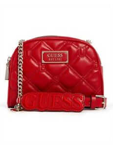 GUESS Lolli Mini Cross Body Double Zip Bag