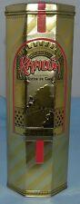 Kajlua Hecho en Mexico Licor De Cafe Liqueur Product of Mexico Tin Empty