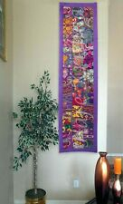 Festive Wall Decorative Tapestry Cotton Hand Patchwork Wall Hanging (Purple) 60""