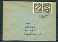 Bedarfsbrief BRD Mi.-Nr. 164 MeF nach Bad Oldesloe - b4384