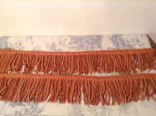 Vintage French Passementerie Fringe Braid Tassel Trim Trimming ~ 2m - NOS