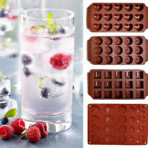 4er Set Silikon Eis Würfel Behälter Eiswürfelform Eiswürfelbereiter Garten Party