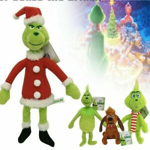 Grinch Plush Doll How the Grinch Stole Stuffed Christmas Kids Toys Xmas Gift