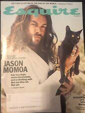 Esquire Magazine  (November 2019) Jason Momoa