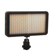 228 LED Video Light Lamp Panel Dimmable 20W 2000LM for DSLR Camera DV