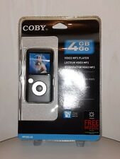 Coby, Video MP3 Player, 4 GB Go
