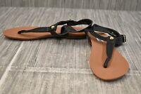 **Steve Madden Delray T-Strap Sandals, Women's Size 7 M, Black