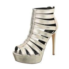 Damenschuhe Schuhe Pumps High Heels Plateau Sandalen Schlangenoptik  Gr.37 NEU