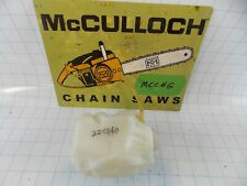 Nos McCulloch Chainsaw Fuel Tank 224360 Genuine Oem. Free Shipping!