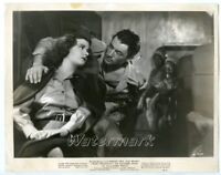 vintage photo movie still Actress Joan Bennett Gregory Peck The Macomber Affair