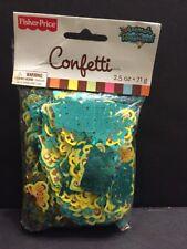 Fisher Price Animals of the Rainforest Confetti NIP Decoration Baby Love