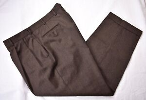 Austin Reed Wool Brown Pants For Men For Sale Ebay