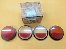 Fiat 128 Rally, 850 Coupe Tail Light Lens set  Fanali POSTERIORE Altissimo NOS