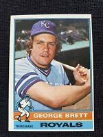 1976 Topps George Brett ROYALS 2nd Year Baseball Card #19 NM