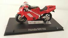 Motorrad Modell Honda NR750 rot Ixo Altaya 1:24