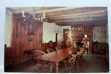 New York NY Fort Niagara Sir William Johnson Council Chamber Postcard Old View