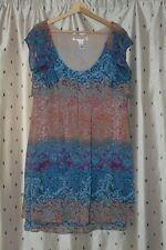 Diane Von Furstenberg ~ Pretty Lined Silk Dress ~ Size 12